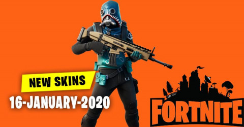 Fortnite Skins Today's Item Shop 16 January 2020