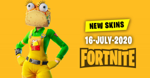 Fortnite Skins Today's Item Shop 16 July 2020