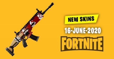 Fortnite Skins Today's Item Shop 16 June 2020