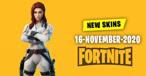 Fortnite Skins Today's Item Shop 16 November 2020