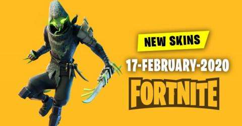 Fortnite Skins Today's Item Shop 17 February 2020
