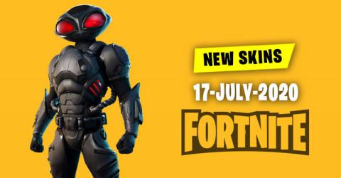 Fortnite Skins Today's Item Shop 17 July 2020