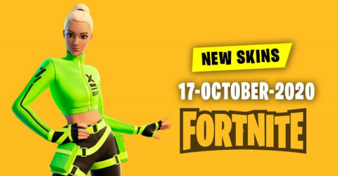 Fortnite Skins Today's Item Shop 17 October 2020