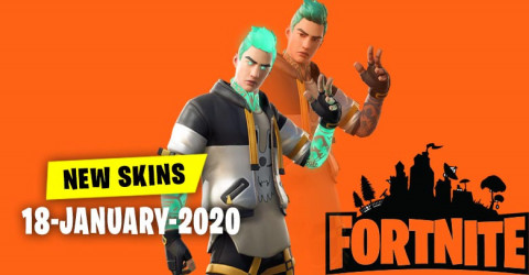 Fortnite Skins Today's Item Shop 18 January 2020