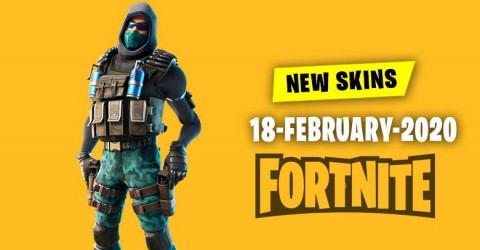 Fortnite Skins Today's Item Shop 18 February 2020