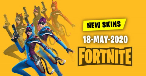 Fortnite Skins Today's Item Shop 18 May 2020