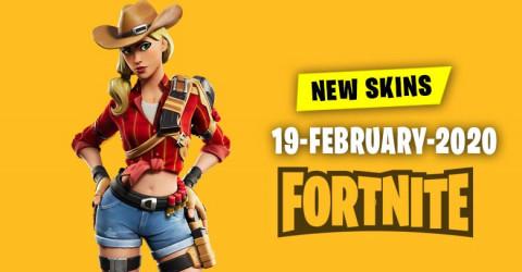 Fortnite Skins Today's Item Shop 19 February 2020