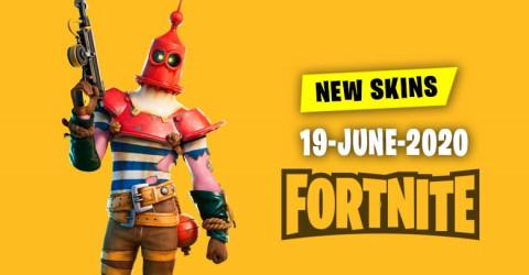 Fortnite Skins Today's Item Shop 19 June 2020