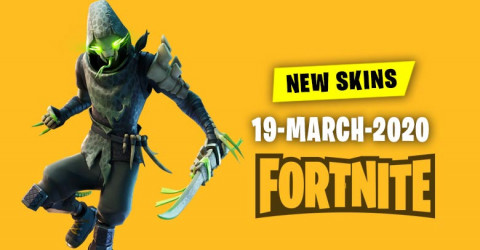 Fortnite Skins Today's Item Shop 19 March 2020