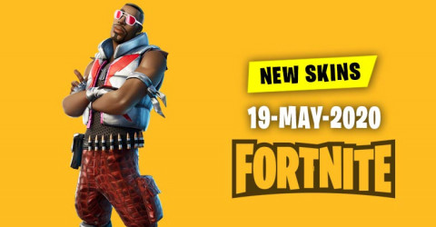 Fortnite Skins Today's Item Shop 19 May 2020
