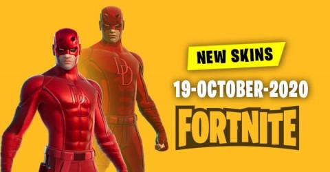 Fortnite Skins Today's Item Shop 19 October 2020