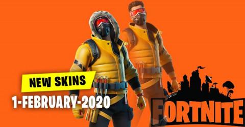 Fortnite Skins Today's Item Shop 1 February 2020