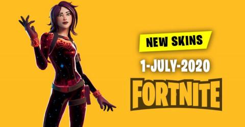 Fortnite Skins Today's Item Shop 1 July 2020