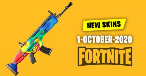 Fortnite Skins Today's Item Shop 1 October 2020