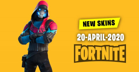 Fortnite Skins Today's Item Shop 20 April 2020