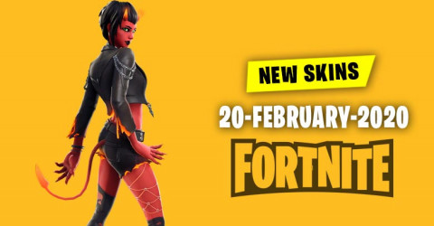 Fortnite Skins Today's Item Shop 20 February 2020