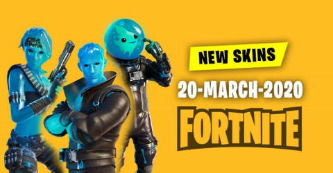 Fortnite Skins Today's Item Shop 20 March 2020