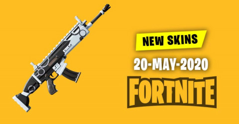 Fortnite Skins Today's Item Shop 20 May 2020