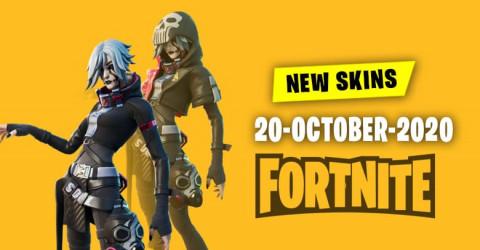 Fortnite Skins Today's Item Shop 20 October 2020