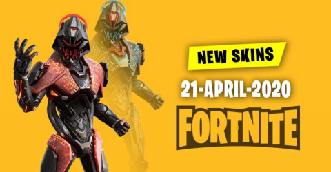 Fortnite Skins Today's Item Shop 21 April 2020