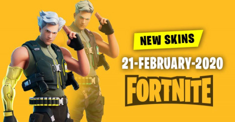 Fortnite Skins Today's Item Shop 21 February 2020