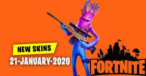 Fortnite Skins Today's Item Shop 21 January 2020