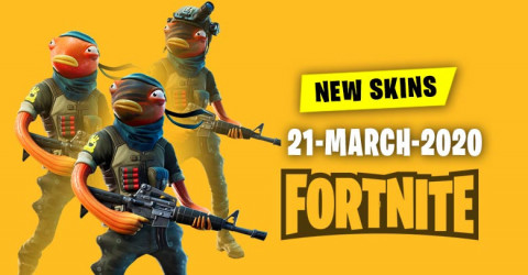 Fortnite Skins Today's Item Shop 21 March 2020