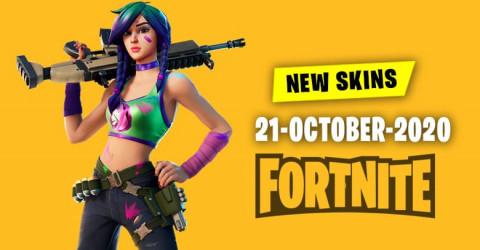 Fortnite Skins Today's Item Shop 21 October 2020