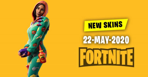 Fortnite Skins Today's Item Shop 22 May 2020