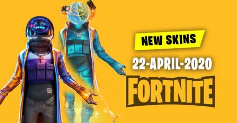 Fortnite Skins Today's Item Shop 22 April 2020