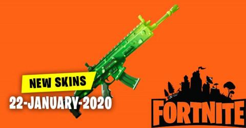 Fortnite Skins Today's Item Shop 22 January 2020
