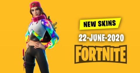 Fortnite Skins Today's Item Shop 22 June 2020