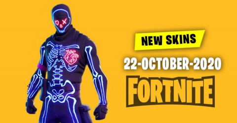 Fortnite Skins Today's Item Shop 22 October 2020