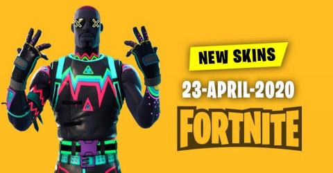 Fortnite Skins Today's Item Shop 23 April 2020