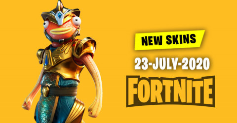 Fortnite Skins Today's Item Shop 23 July 2020