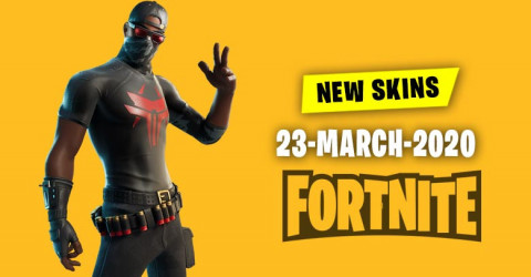 Fortnite Skins Today's Item Shop 23 March 2020
