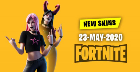 Fortnite Skins Today's Item Shop 23 May 2020