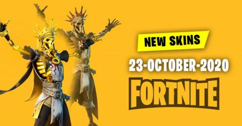 Fortnite Skins Today's Item Shop 23 October 2020
