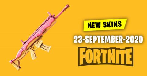 Fortnite Skins Today's Item Shop 23 September 2020