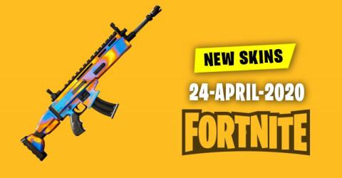 Fortnite Skins Today's Item Shop 24 April 2020