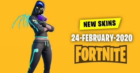 Fortnite Skins Today's Item Shop 24 February 2020