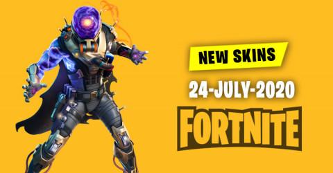 Fortnite Skins Today's Item Shop 24 July 2020