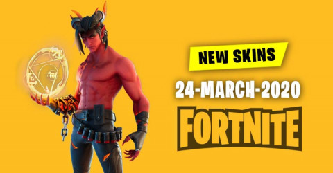 Fortnite Skins Today's Item Shop 24 March 2020