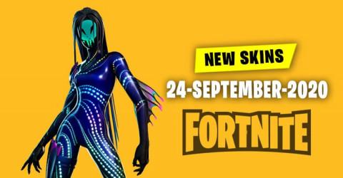 Fortnite Skins Today's Item Shop 24 September 2020