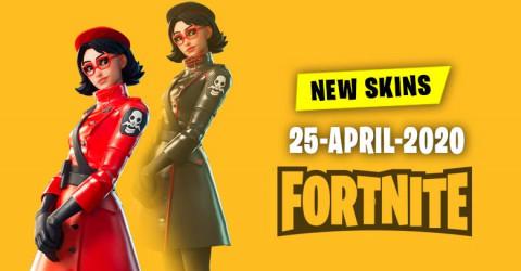 Fortnite Skins Today's Item Shop 25 April 2020