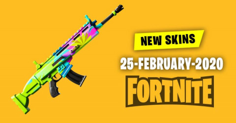 Fortnite Skins Today's Item Shop 25 February 2020