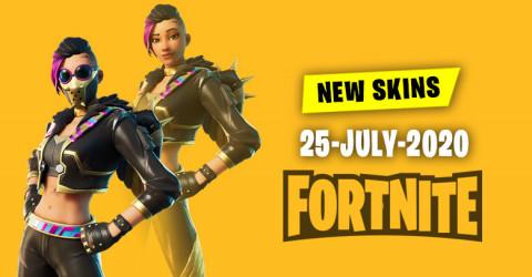 Fortnite Skins Today's Item Shop 25 July 2020
