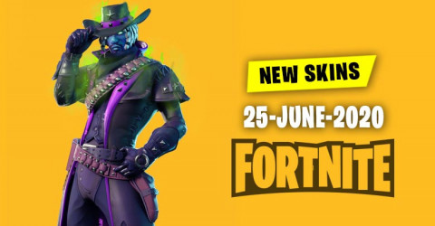 Fortnite Skins Today's Item Shop 25 June 2020