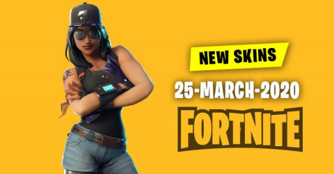 Fortnite Skins Today's Item Shop 25 March 2020
