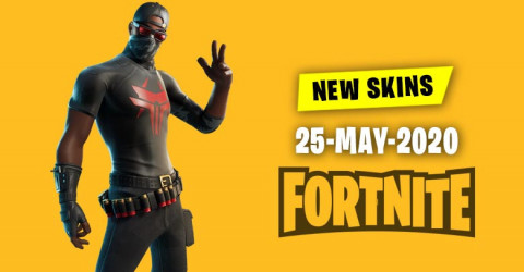 Fortnite Skins Today's Item Shop 25 May 2020
